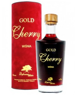 VODKA DEBOWA GOLD CHERRY (cerise) 70 CL