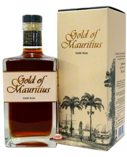 GOLD OF MAURITUS DARK RHUM 70 CL