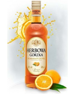 VODKA HERBOWA A L'ORANGE ET AUX HERBES 50 CL