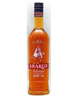 VODKA KRAKUS SWEET BITTER MACEREE AUX HERBES 50 CL
