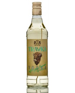 VODKA TRAVKA HERBE DE BISON 50 CL