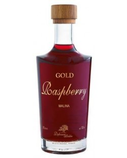 VODKA DEBOWA GOLD RASPBERRY (framboise) 70CL