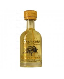 Vodka Debowa Golden Oak miniature 5 cl