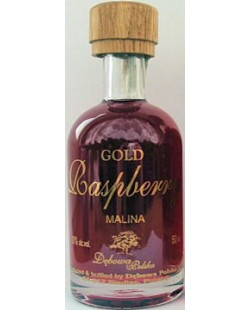 VODKA DEBOWA GOLD RASPBERRY (framboise) MINIATURE 5 CL