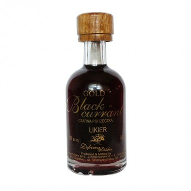 Gold Blackcurrant - Cassis miniature 5 cl