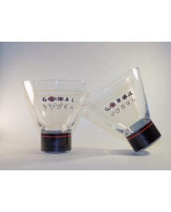 6 VERRES GORAL VODKA 15 CL