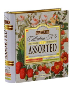 THE BASILUR / TEA BOOK COLLECTION N°1 ASSORTED 56G