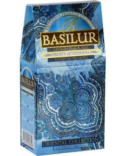THE BASILUR / ORIENTAL COLLECTION / FROSTY AFTERNOON ( thé noir vrac) 100G